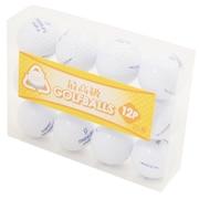 ゴルフボール ロストボール 12個A (M) 0401-03546257-000-0000