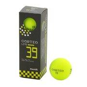 ゴルフボール  コルテオライト39 グリーン 3個入り