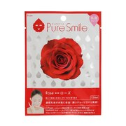 PURE SMILE エッセンスマスク 乳液シリーズ ローズ N001