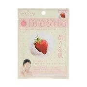 PURE SMILE エッセンスマスク ミルクシリーズ いちごミルク mk02