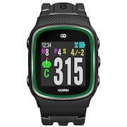 ゴルフナビ みちびきL1S対応 ザ・ゴルフウォッチ ノルム G015B 腕時計タイプ