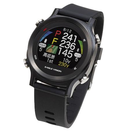 ゴルフナビ 腕時計型 距離測定器 イーグルビジョン ウォッチエース (watchACE) EV-933