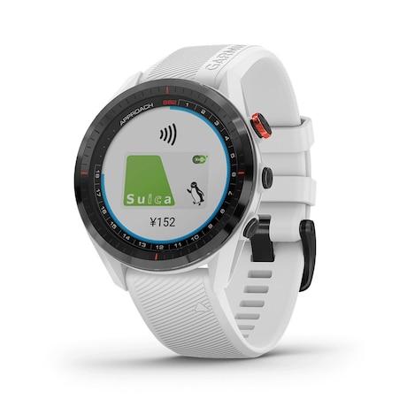 <1位>ガーミン ゴルフナビ 腕時計タイプ アプローチS62 White 010-02200-21