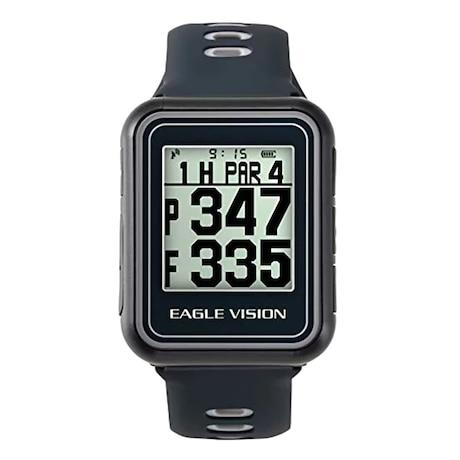 ゴルフナビ 腕時計型 距離測定器 GPSEAGLE VISION watch5 EV-019 BK