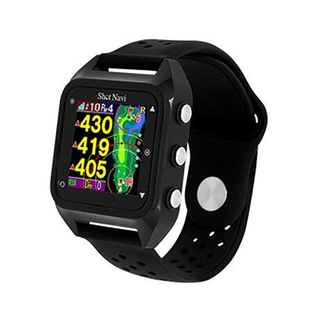 ゴルフナビ 腕時計型 距離測定器 HuG Beyond Lite ブラック