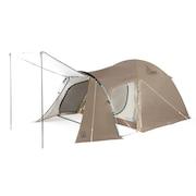 テント ファミリーテント ドーム アースドーム 240 SC WE2KDA05 DGRY 大型 ファミリー 4人用 5人用 防虫 防水 簡単