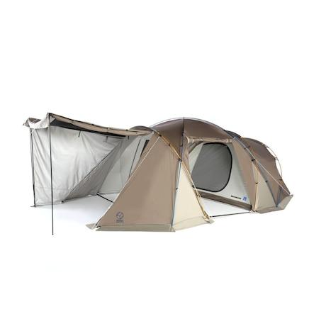 テント 4人用 5人用 2ルーム アースデュラダブルルーム SC WE2KDA03 DGRY