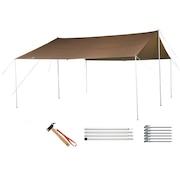 テント HDタープ シールド・レクタ L Pro セット TP-842S キャンプ用品 タープ