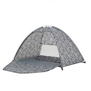 テント 2~3人用 ワンタッチテント 3人用 フルクローズ 公園 PU防水加工 UVカット 耐水圧1000mm フルクローズサンシェード WE21DA84