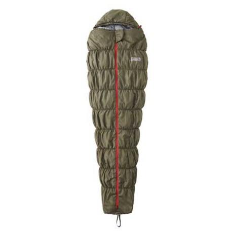 寝袋 シュラフ寝具 コンパクト 折りたたみ 軽量 キャンプ用品 コルネットストレッチ2 L0 2000031104 カーキ