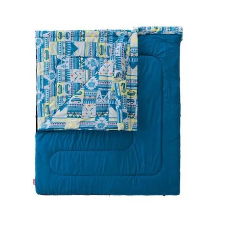 送料無料(対象外地域有)寝袋 シュラフ 寝具 コンパクト 折りたたみ 軽量 キャンプ用品 ファミリー2in1 C5 2000027257