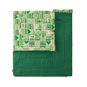 送料無料(対象外地域有)寝袋 シュラフ 寝具 コンパクト 軽量 キャンプ用品 ファミリー2 in1/C10 2000027256