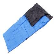 寝袋 シュラフ寝具 コンパクト 折りたたみ 軽量 洗える ジュニアシュラフ 丸洗い15 WE27DE11 BLU