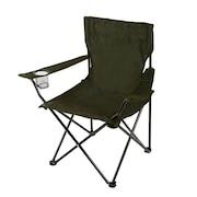 アウトドア チェア 折りたたみ椅子 LUCKY TIME CHAIR WE23DC29 OLIVEバーベキュー キャンプ スチール 緑 グリーン カップホルダー