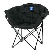 椅子 おしゃれ オフィス チェア 在宅ワーク 折りたたみ キャンプ アウトドア コンパクト クラムチェア WE23DC35 BLK