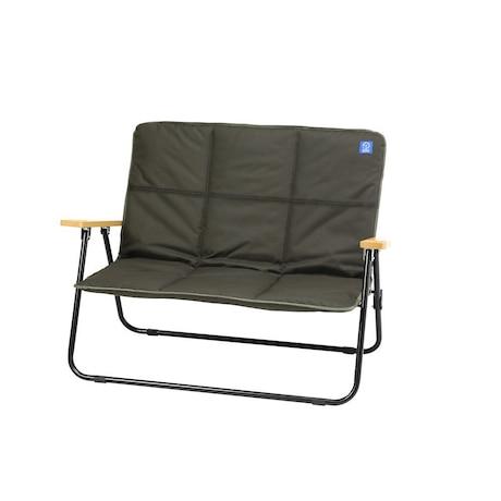 椅子 チェア 折りたたみ FAB SOFA WE2KDC06 OLV イス 折りたたみ コンパクト 庭 肘掛け 二人掛け クッションカバー