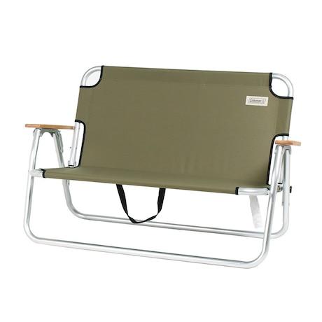 チェア 折りたたみ椅子 リラックスフォールディングベンチ 2000033807バーベキュー キャンプ アルミ 茶色 ブラウン ベンチ