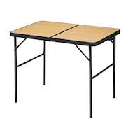 フォールディングテーブル90-60 高さ2段階調整 WE23DB41 BEG