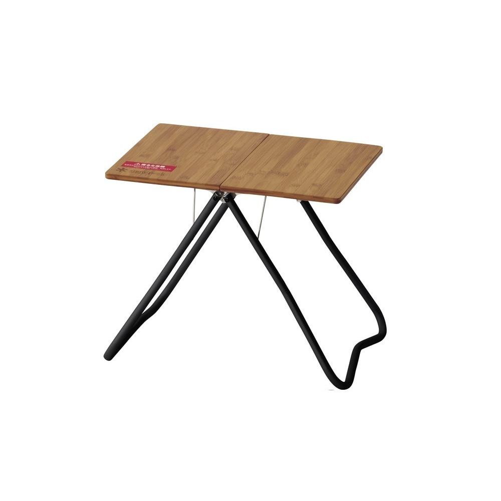テーブル 折りたたみ Myテーブル竹 ブラック FES-132