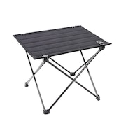 テーブル アウトドア キャンプ おうち時間 ソロキャンプ COMPACT SOLO ロールテーブル EX WE23DB48 BLK