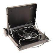フォアウインズ ガスバーナー ラックスキャンプストーブ FW-LS01-BK FOREWINDS