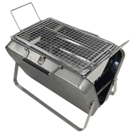 バーベキューグリル BBQ ポータブルケースコンロ K-10382
