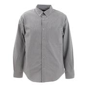 長袖シャツ ギンガムチェックシャツ TOMRJB76XB BK