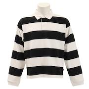 Tシャツ ヘビーウエイトボーダーラガーロングスリーブ CH01-1493 Black/White