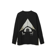 Relaxed Camping 長袖Tシャツ TS-20AU206BK