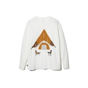 Relaxed Camping 長袖Tシャツ TS-20AU206WH