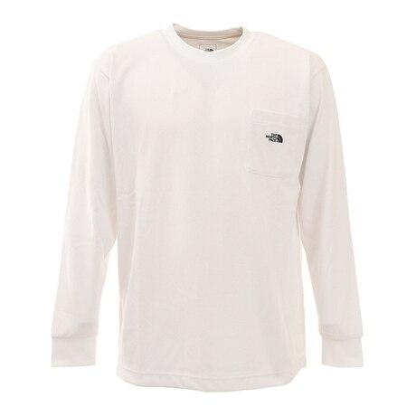長袖Tシャツ ロンT ロングスリーブ ポケットTシャツ NT82130X W