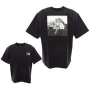 tシャツ 半袖 ピクチャードスクエア ロゴ NT32036 K