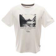 Tシャツ 半袖 ANTARCTIC LANDSCAPE  PW2HJA24 WHT