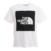 半袖Tシャツ ショートスリーブカラードスクエアロゴTシャツ NT32135 K
