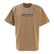 半袖Tシャツ ショートスリーブボックスロゴティー NT321001X KT シンプル ベージュ