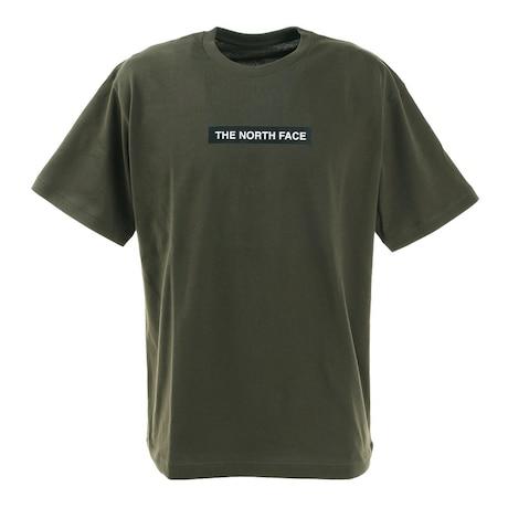 半袖Tシャツ ショートスリーブボックスロゴティー NT321001X NT シンプル カーキ