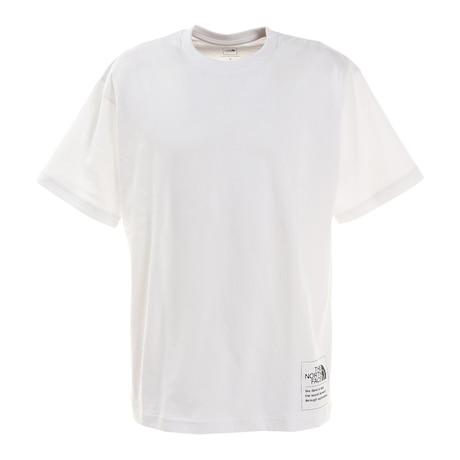 半袖Tシャツ ショートスリーブサイドロゴティー NT321002X W シンプル ワンポイント