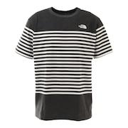 半袖Tシャツ ショートスリーブパネルボーダーTシャツ NT32137 ZC