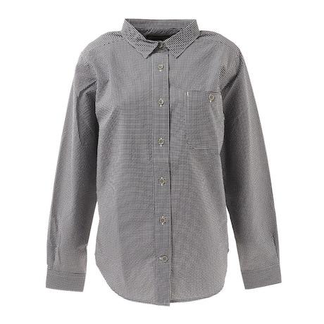長袖シャツ ギンガムチェックシャツ TOWRJB76XB BK