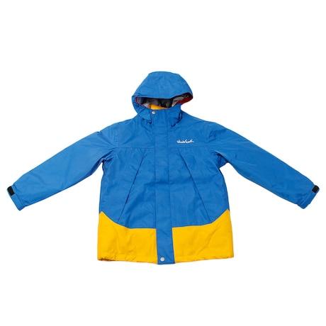 【多少の傷汚れありの為大奉仕】キッズ  ジャケット 防水 保温トレクスター フーディ WEFDAQ16 BLU