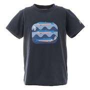 ジュニア ショートスリーブフィスクTシャツ HJ62007 HB