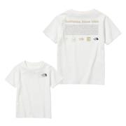 ジュニア ヒストリカル ロゴ 半袖Tシャツ NTJ32143 W