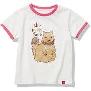 ジュニア アニマル 半袖Tシャツ NTJ32151 WM