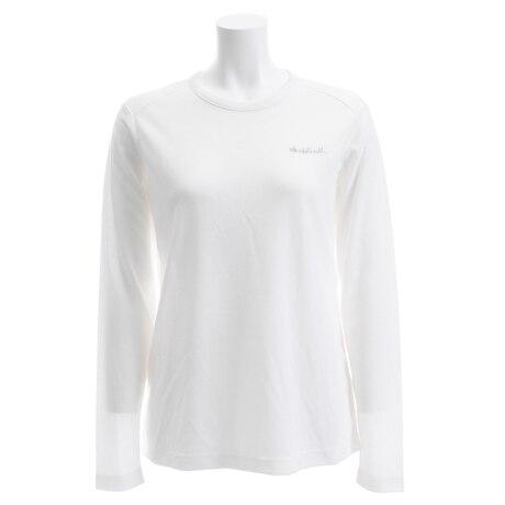 【多少の傷汚れありの為大奉仕】RESPIRATION ロングスリーブTシャツ WE28HB25 ホワイト