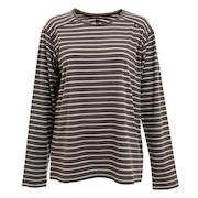 【海外サイズ】ウールボーダー 長袖Tシャツ MIV01779-4003