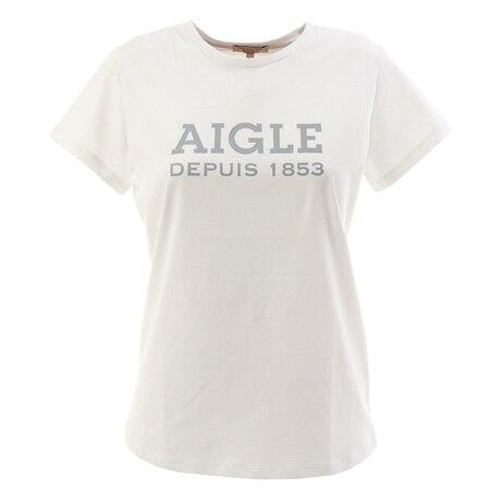 【多少の傷汚れありの為大奉仕】DFT AIGLEロゴtシャツ 半袖 ZTF003C-111