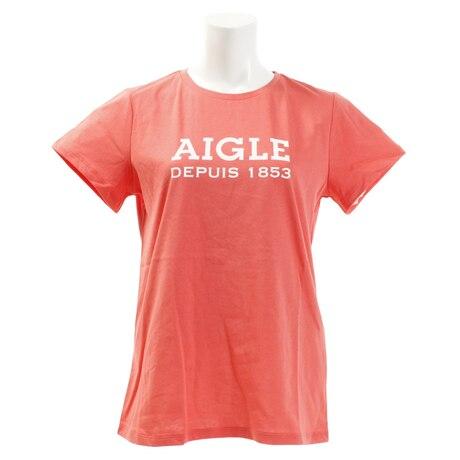 【多少の傷汚れありの為大奉仕】DFT AIGLEロゴtシャツ 半袖 ZTF003C-115