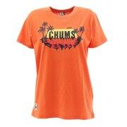Sunset Beach 半袖Tシャツ CH11-1519 Orange