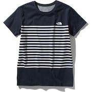 パネルボーダー tシャツ 半袖 NTW32063 UN