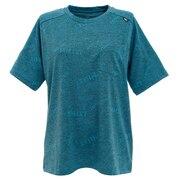 tシャツ 半袖 【海外サイズ】ジャカード メッシュ クルー ショートスリーブ MIV01782-6338